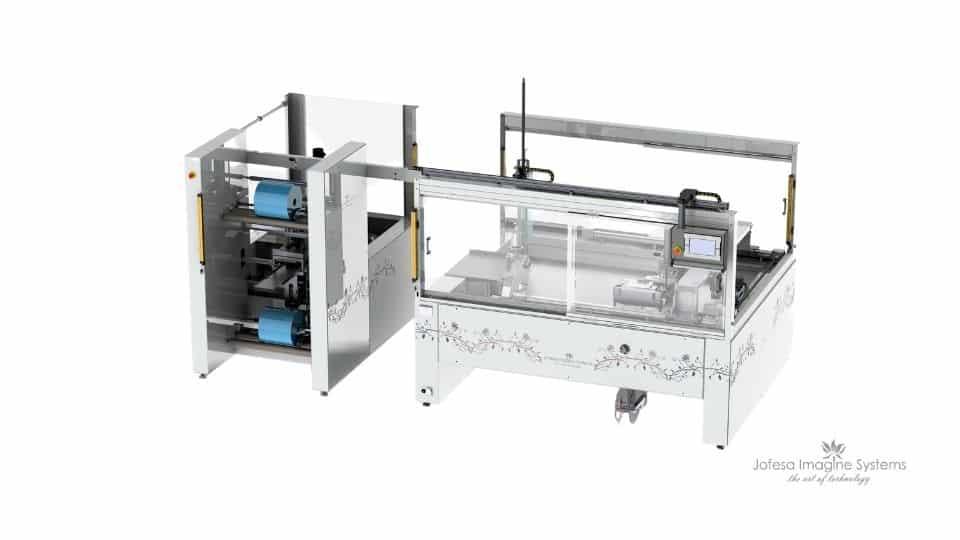 Máquina para fabricar friegasuelos - Kentucky - Imagen en 3D