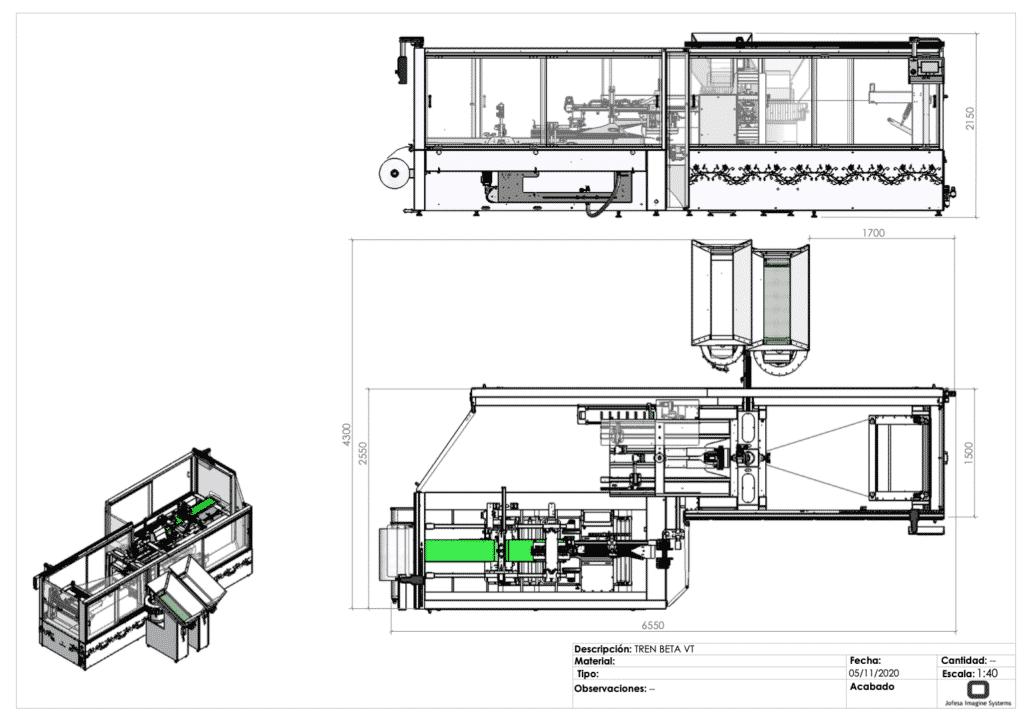 Máquina para fabricar friegasuelos - Beta V - Planos
